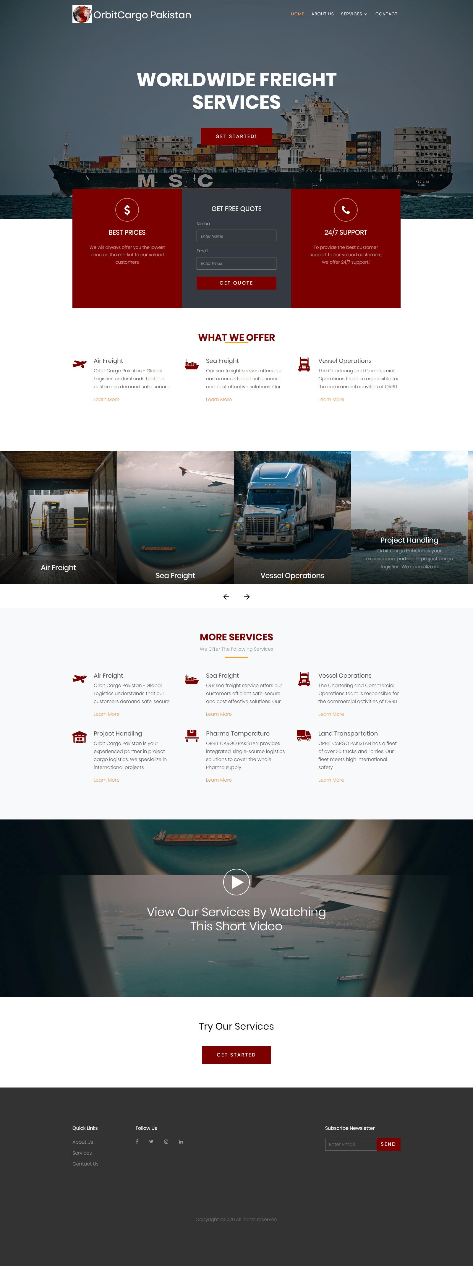 designing a web