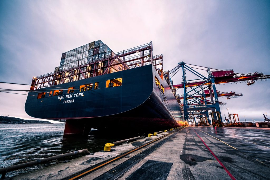 logistics ship