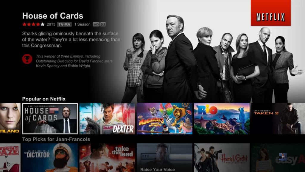 Netflix popular category