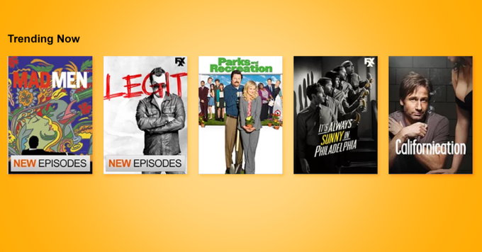 Netflix trending now image