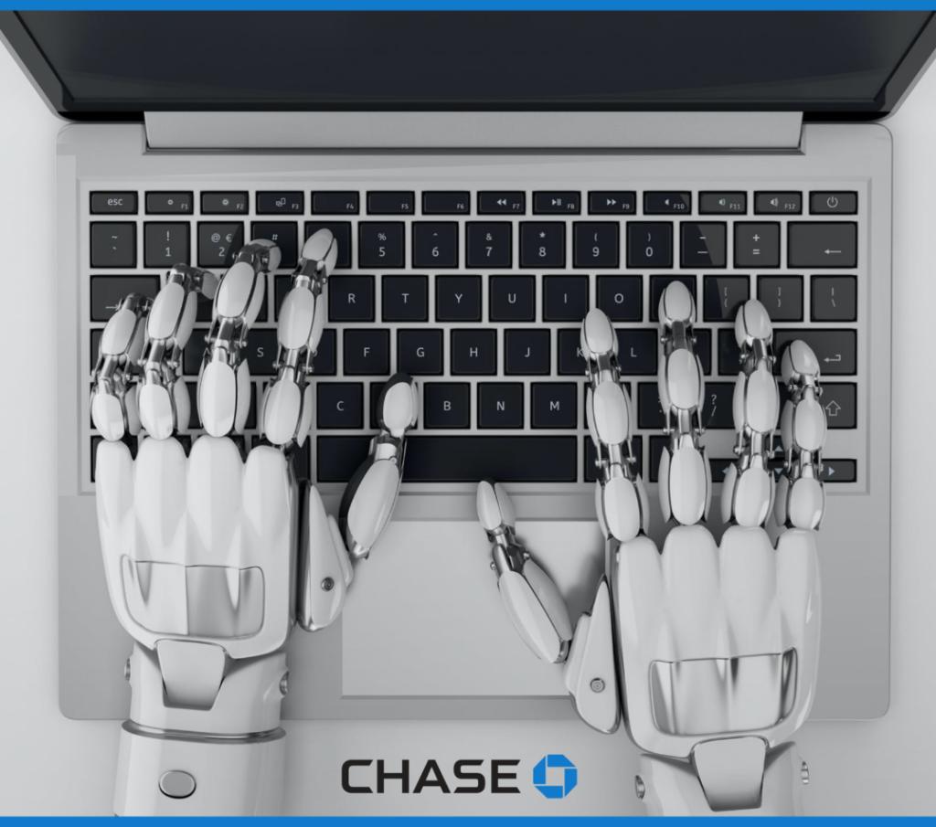bot using laptop