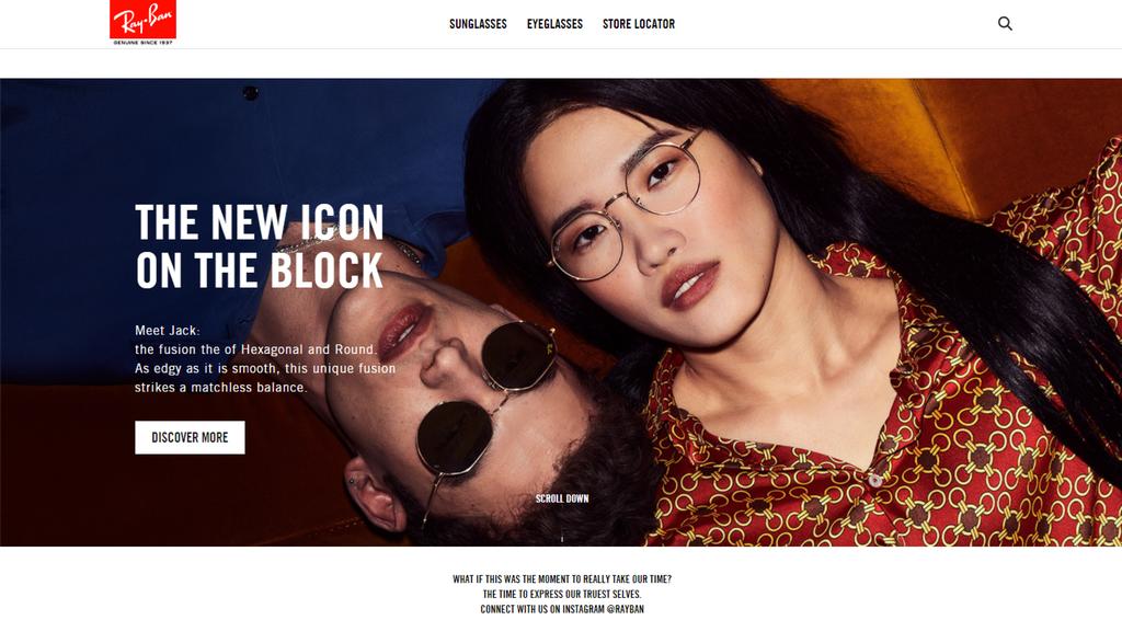 ray ban homepage